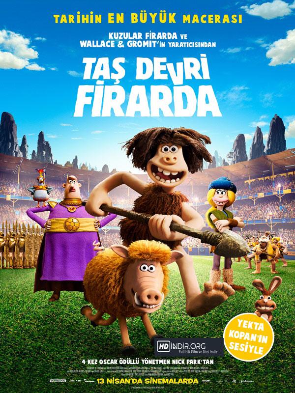 Taş Devri Firarda (2018) Türkçe Dublaj 720p indir
