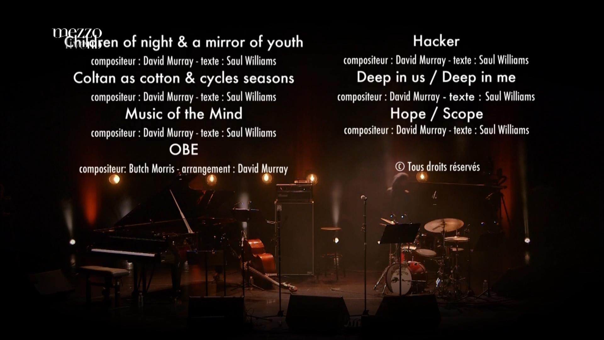 2015 David Murray Infinity Quartet feat. Saul Williams - Disruption at Banlieues Bleues Jazz Fest [HDTV 1080i] 19