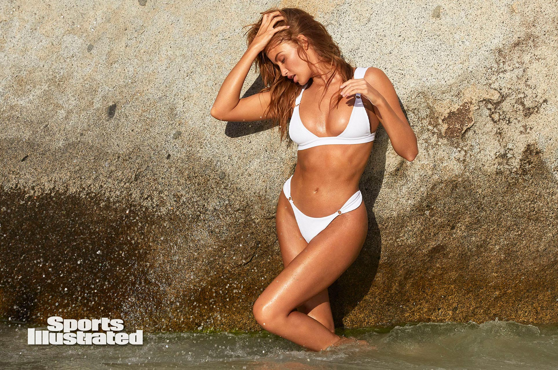 Хейли Калил в каталоге купальников Sports Illustrated Swimsuit 2020 / фото 11