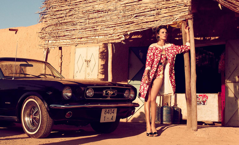Красавица на Мустанге и пыльные дороги Марракеша / фото 01