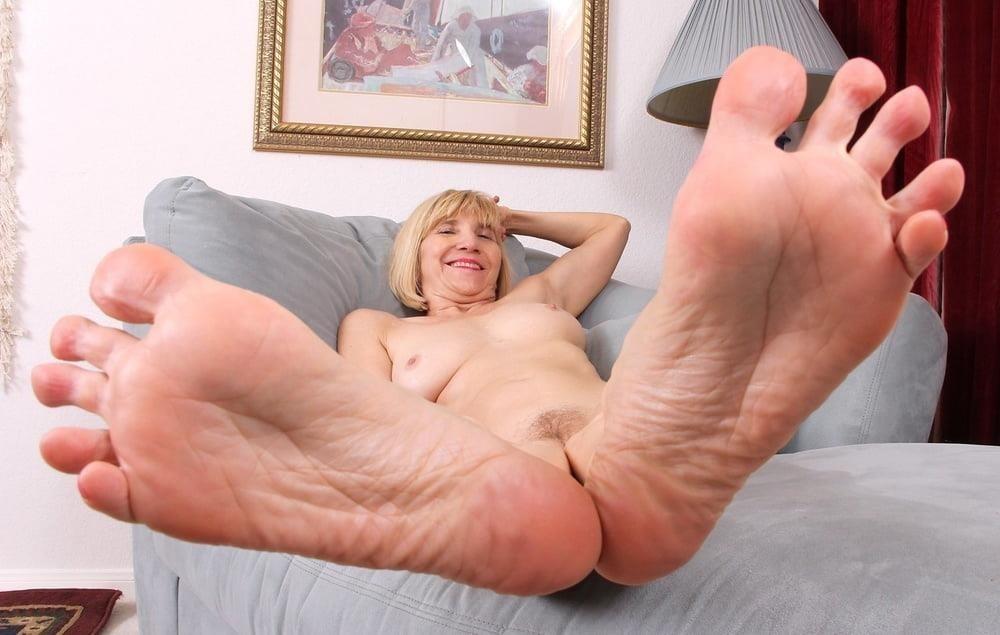 Granny foot femdom-8272