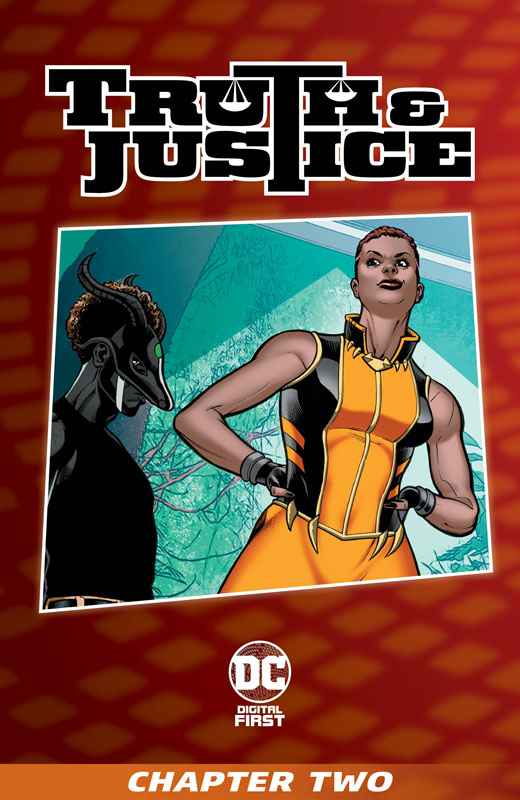 Truth & Justice #1-12 (2021)