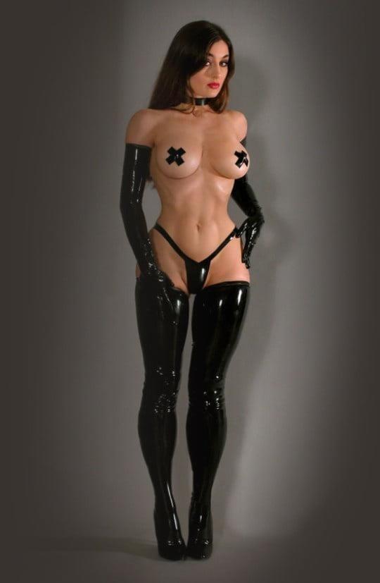 Latex stockings porn pics-5171