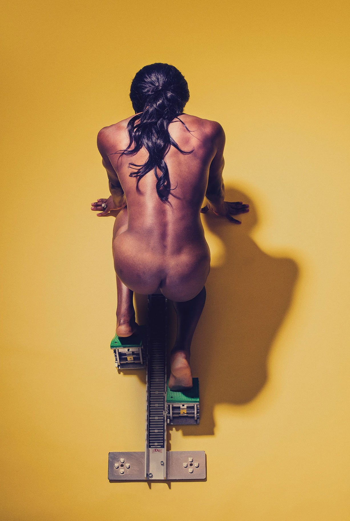 Novlene Williams-Mills - ESPN The Body Issue 2017 / photo by Marcus Smith