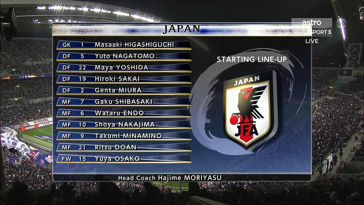 FUTBOL: International Friendly - Japan vs  Uruguay - 16/10/2018