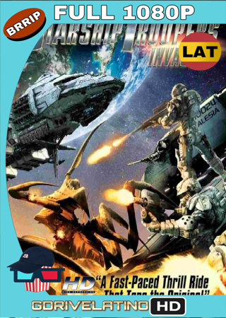 Starship Troopers Invasion (2012) BRRip Full 1080p Audio Trial Latino-Castellano-Ingles MKV