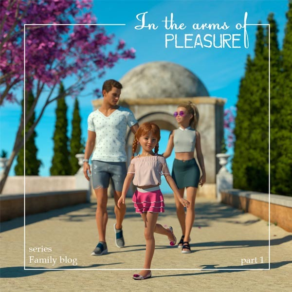 [Starkers] In the arms of PLEASURE (series: Family blog. Part 1)