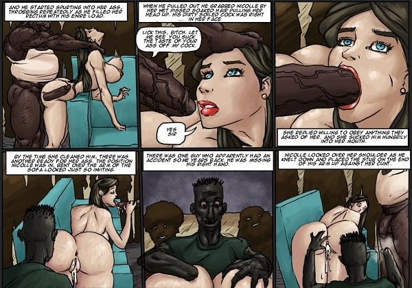 Cover SLUT FOR UGLY BLACK MEN