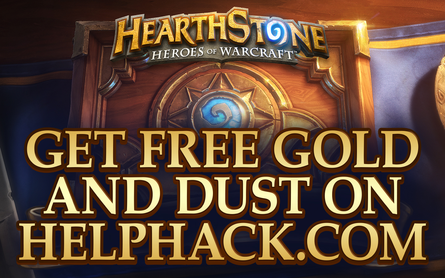 Image currently unavailable. Go to www.generator.helphack.com and choose Hearthstone image, you will be redirect to Hearthstone Generator site.