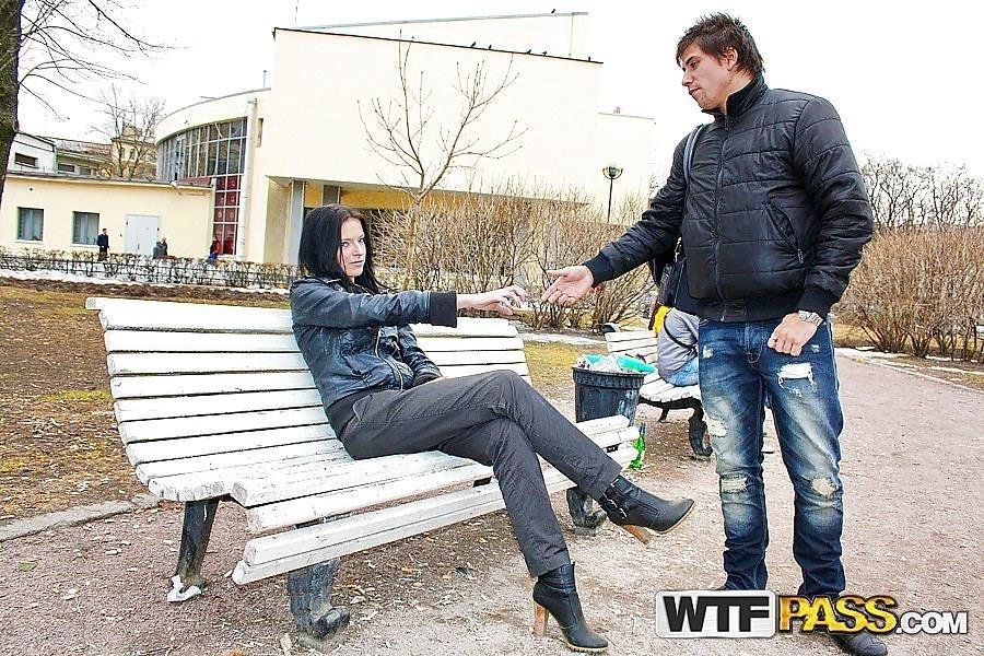 Gianna sex in the street public sex-5200