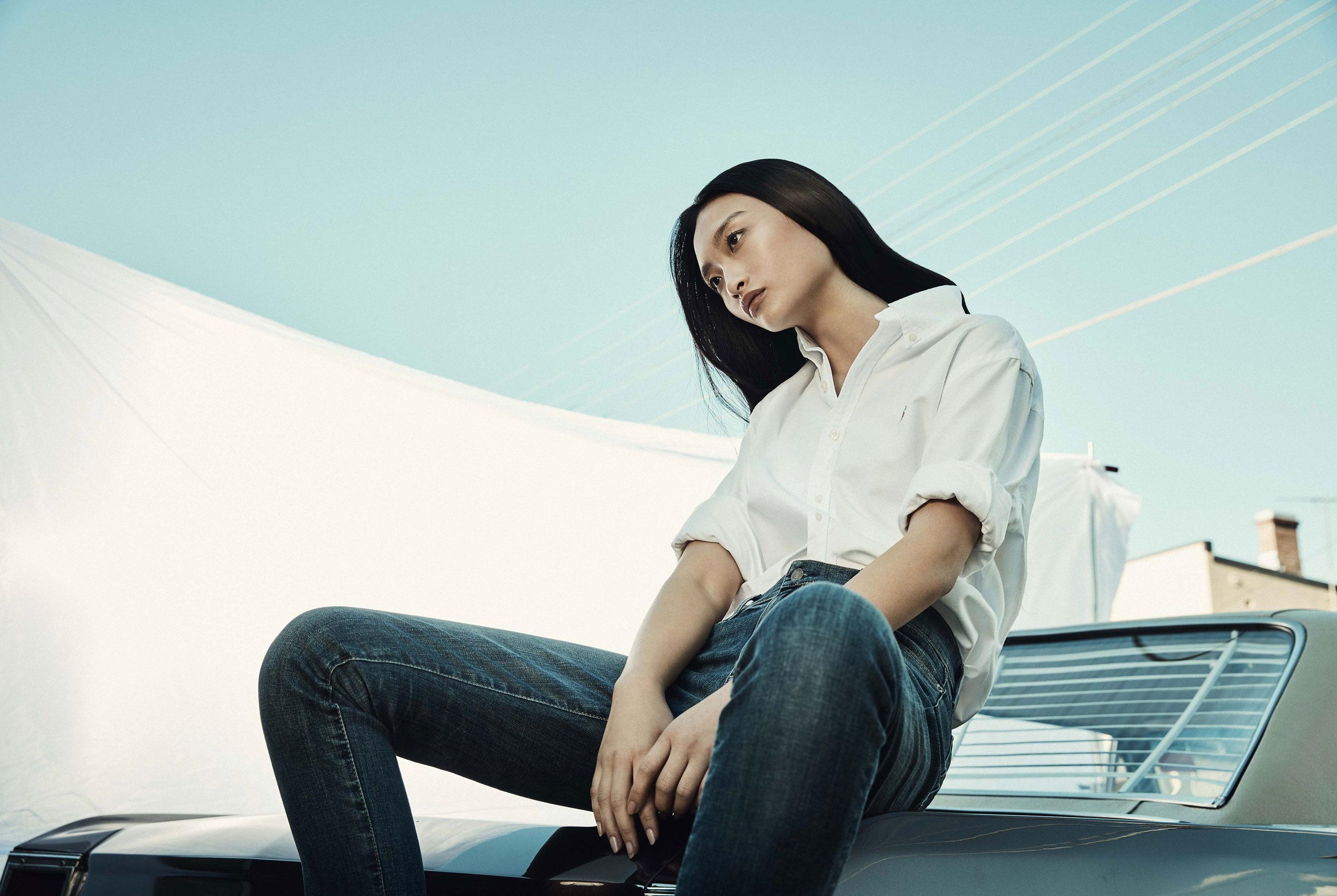 Случай на парковке - как найти принца / Rowena Xi Kang by Steven Popovich / grazia australia summer 2018
