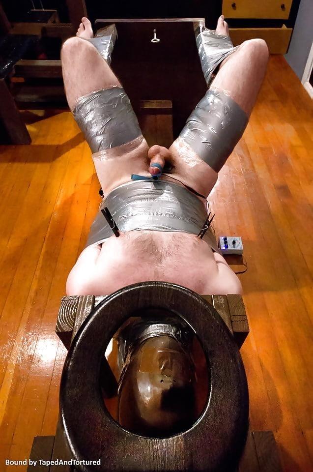Mummification bondage girl-5693