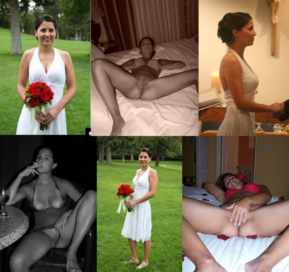 Wedding dress bukkake-9255