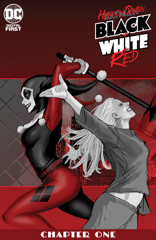 Harley Quinn Black + White + Red #1-13 (2020)