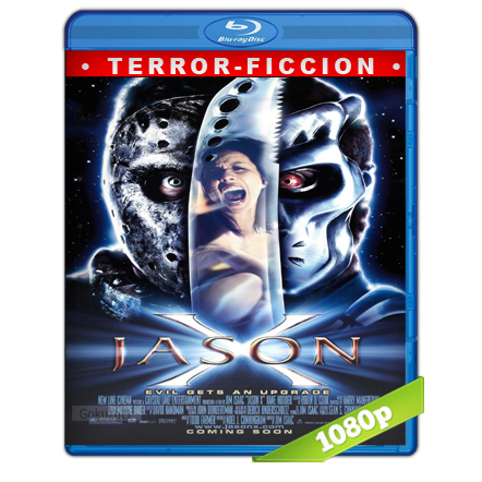 Viernes 13 Parte 10 Jason X (2001) BRRip Full 1080p Audio Trial Latino-Castellano-Ingles 5.1