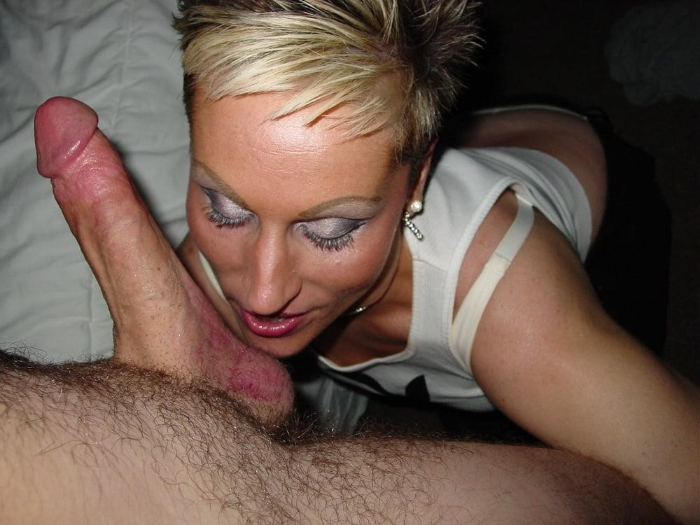 Short hair blond porn-2576