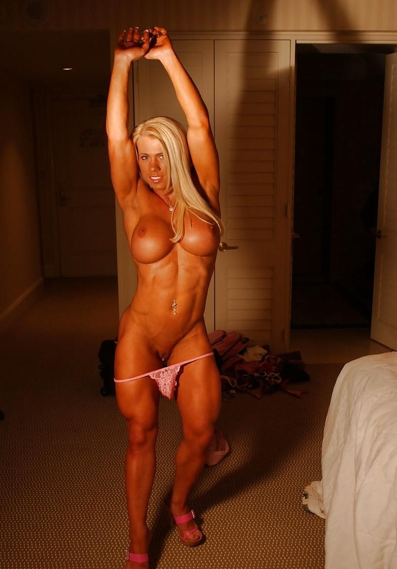 Female bodybuilders with huge clits-3703