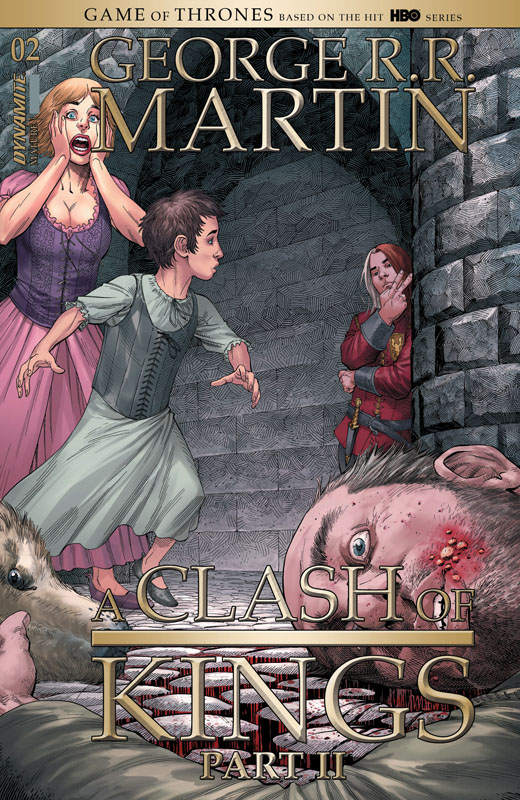 George R.R. Martin's A Clash of Kings Vol.2 #1-4 (2020)