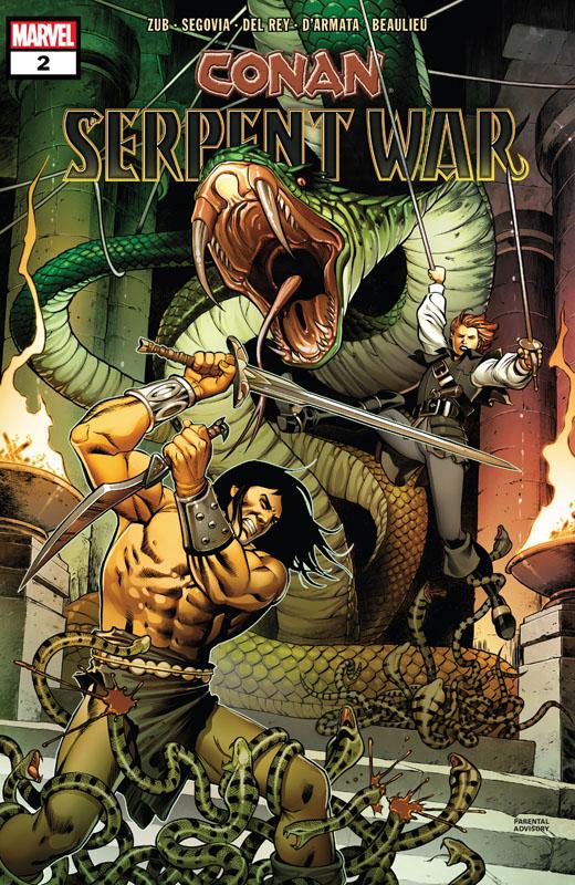 Conan - Serpent War - #1-4 (2020) Complete