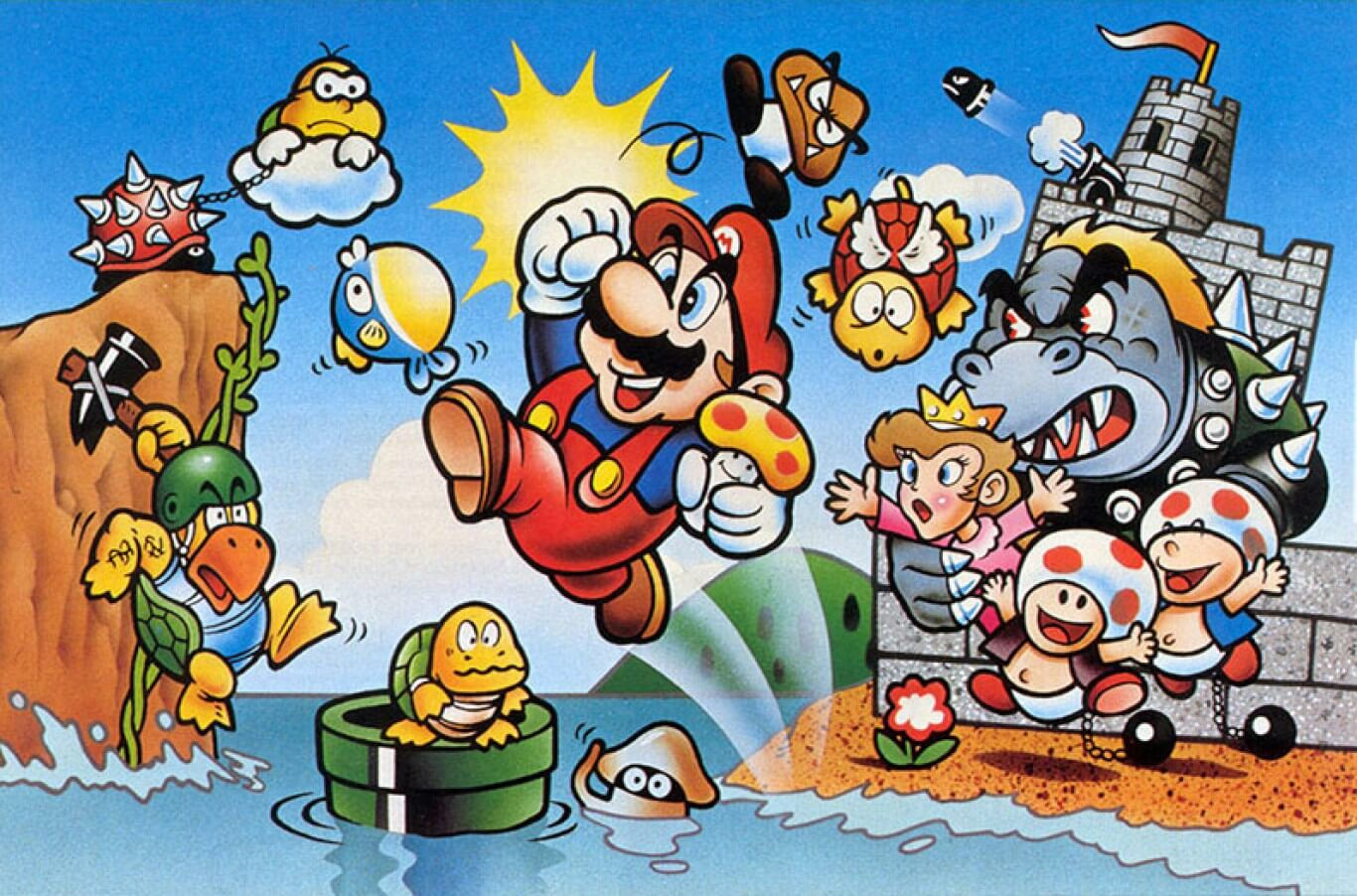 Super Mario Bros. (Japan, USA) PC İndirmeden Retro Oyunlar Oyna
