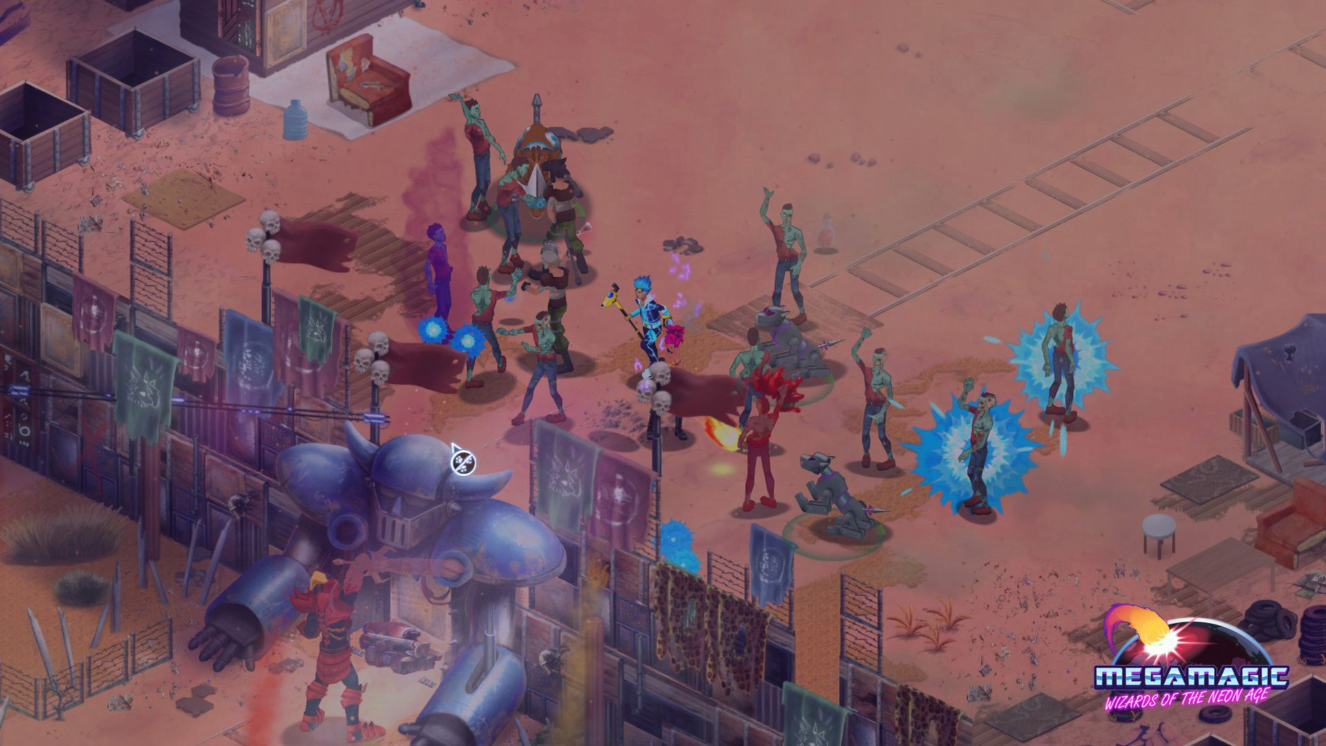 Megamagic: Wizards of the Neon Age Captura 1