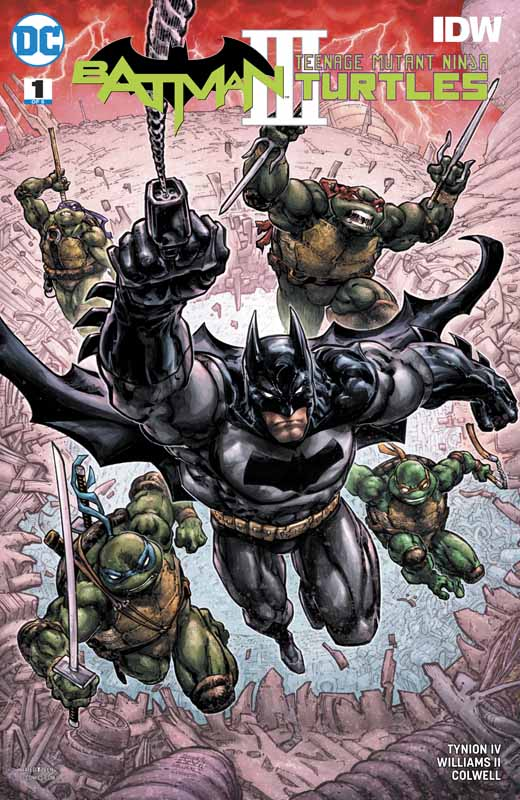 Batman - Teenage Mutant Ninja Turtles III #1-6 (2019) Complete
