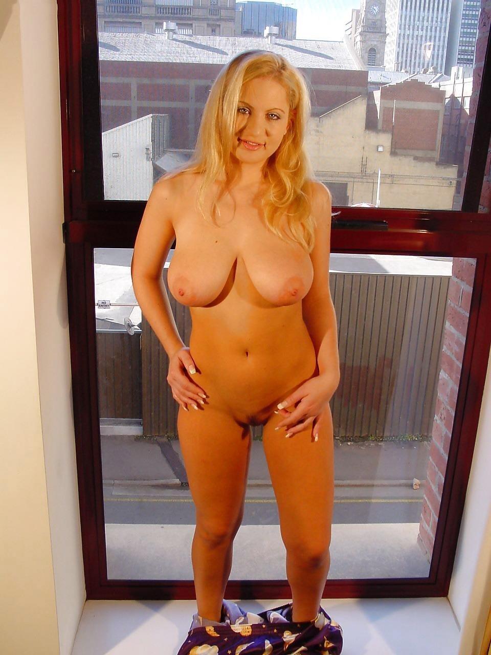 Cute blonde big boobs-4172