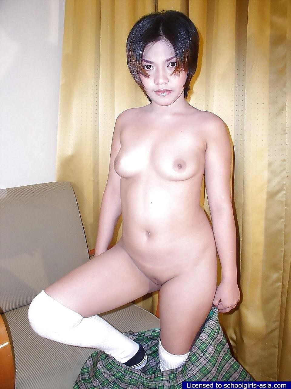 Skinny asian schoolgirl-9454