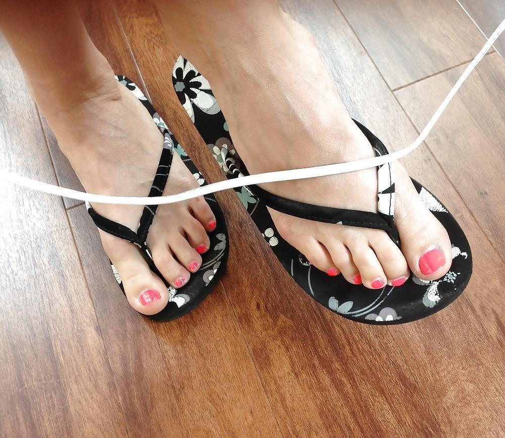 Long toes foot fetish-5087