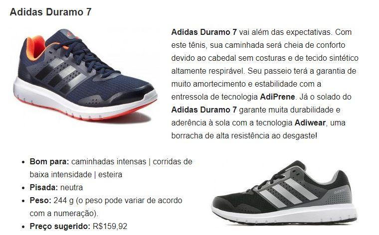 b8a08e2a1aa NETSHOES  Tênis Adidas Duramo 7 Masculino R  139
