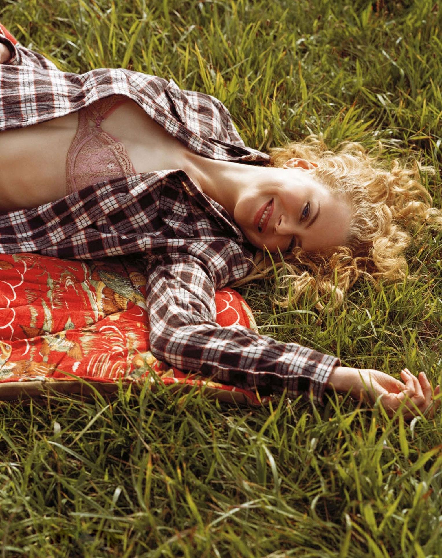 Николь Кидман в журнале Vogue Германия, август 2013 / фото 0
