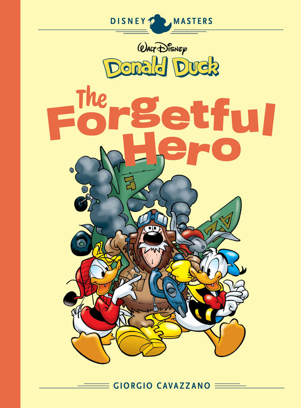 Disney Masters v12 - Donald Duck - The Forgetful Hero (2020)