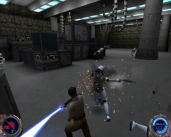 Star Wars: Jedi Knight II – Jedi Outcast Captura 2