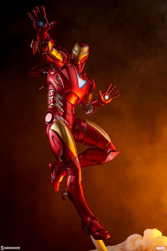 Iron Man Extremis Mark II - Statue (Sideshow) Xepm33RP_o