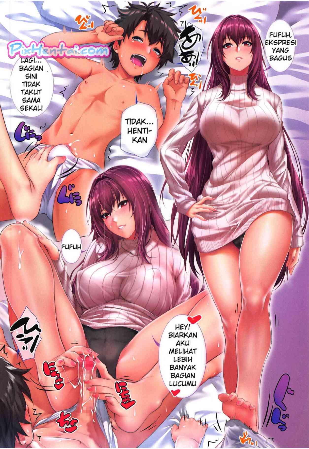 Komik Hentai Ritsuka-kun's Misfortune? The Targeted Lamb!! Manga Sex Porn Doujin XXX Bokep 12