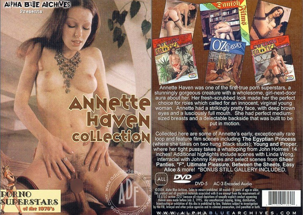 Annette Haven Collection / Коллекция Аннетт Хэвен (Alpha Blue Archives) [1970 / 2005 г., Compilation, Classic, Feature, All Sex, DVDRip] (Annette Haven, John Holmes, John Leslie)