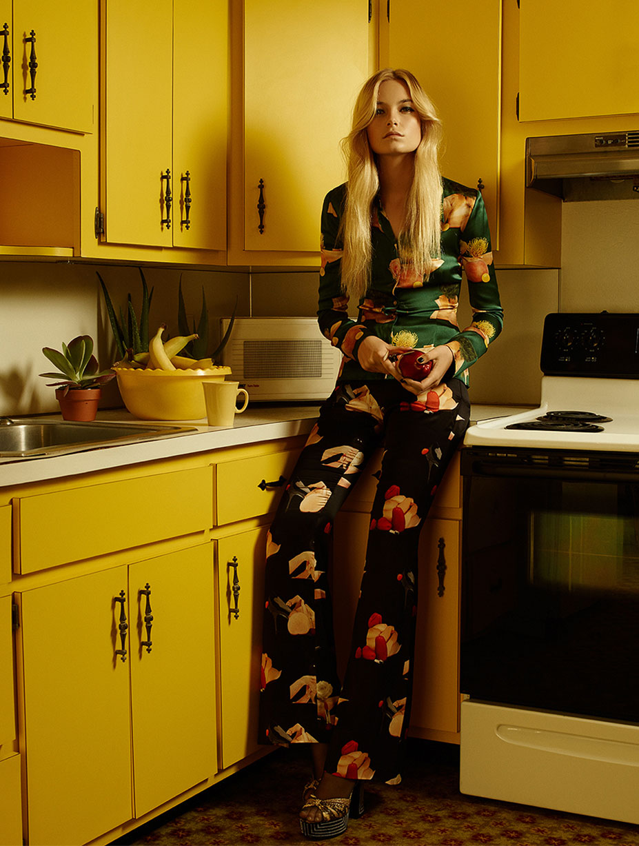 Interiors / Bridget Malcolm by Hans Neumann / Harpers Bazaar Mexico april 2015