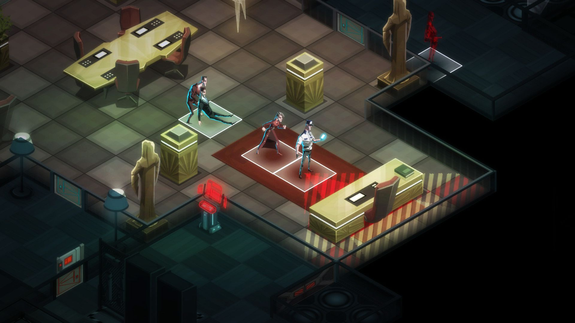 Invisible, Inc. + Contingency Plan DLC Captura 1