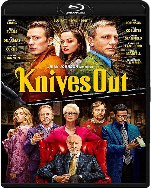 Na noże / Knives out (2019) MULTi.1080p.BluRay.x264.AC3-DENDA / LEKTOR i NAPISY PL