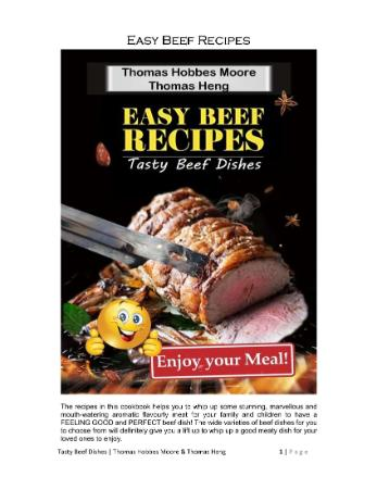 Easy Beef Recipes - Tasty Beef Dishes