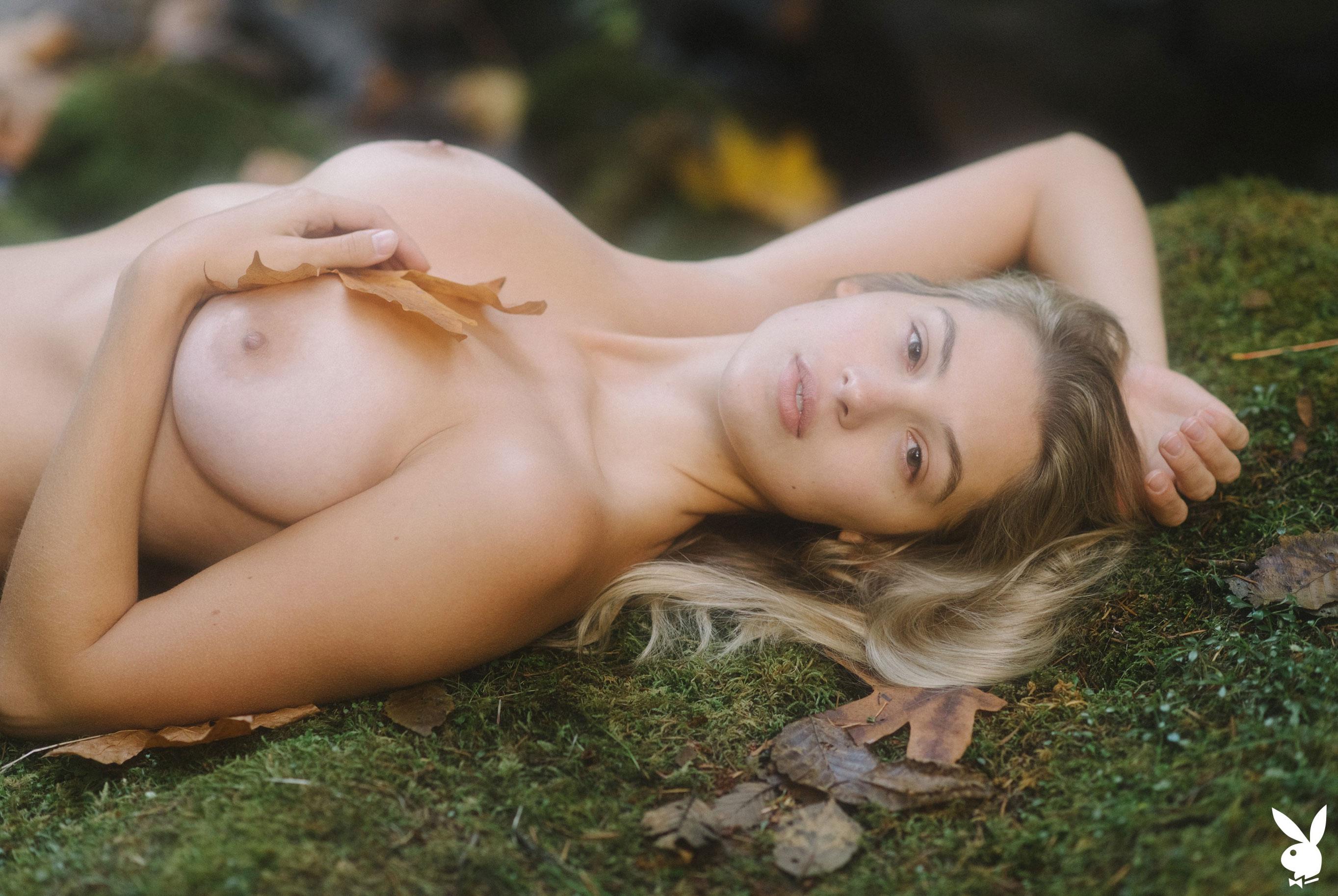 Меган Мур - Девушка месяца февраль 2019 Playboy США / фото 04