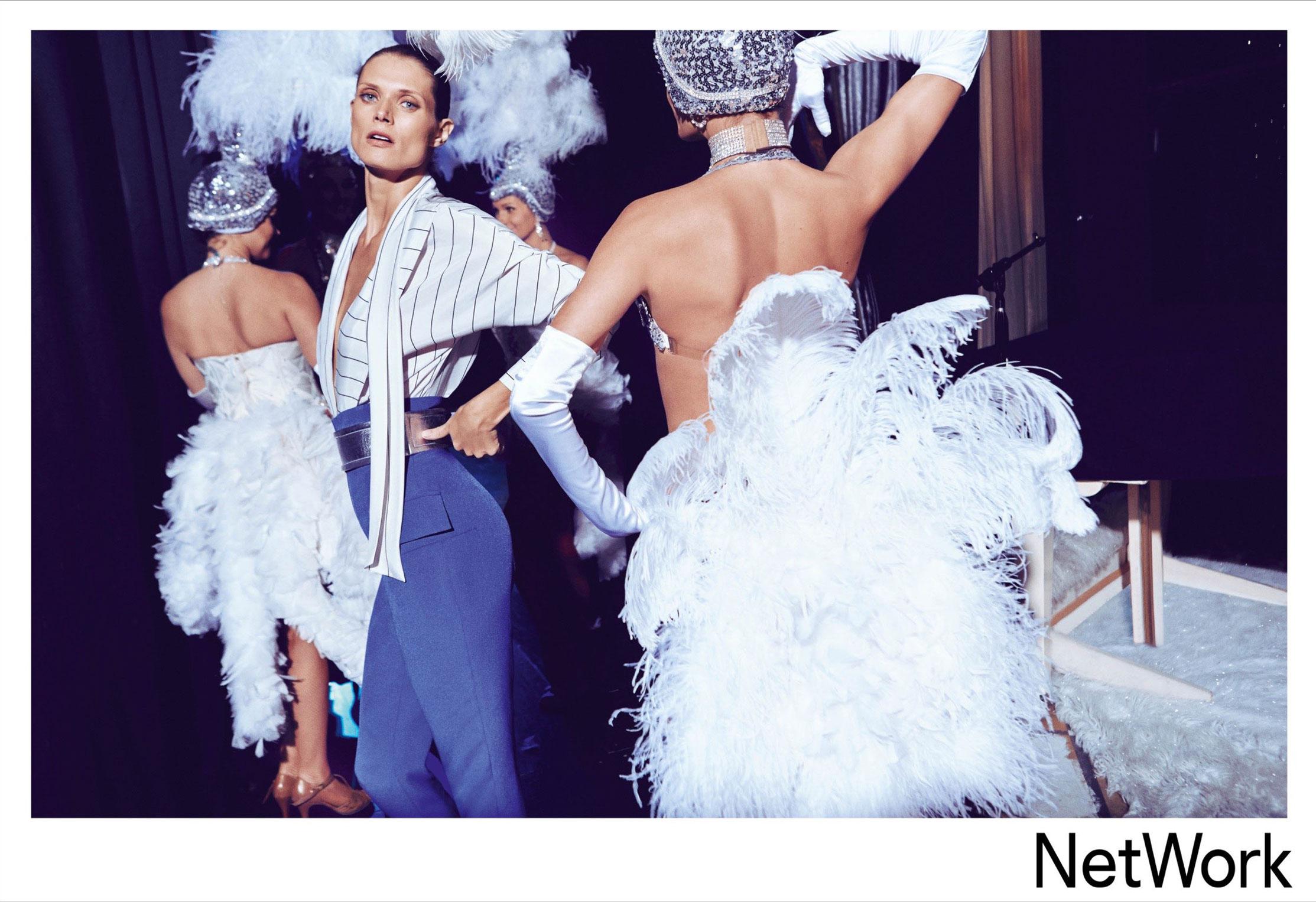 супермодель Малгоша Бела в рекламной кампании турецкого модного бренда Network, сезон весна-лето 2015 / фото 10