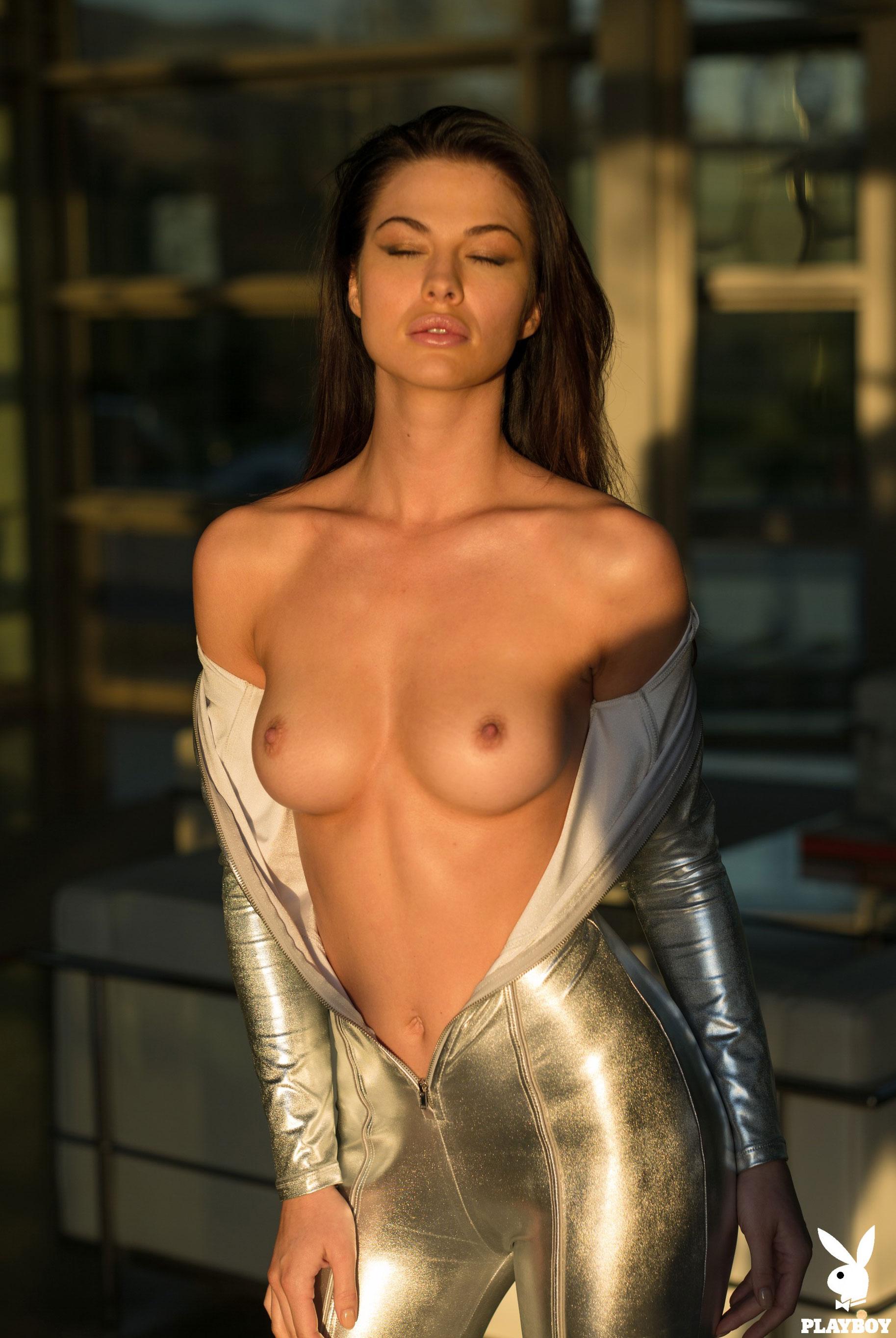 Девушка месяца Jenny Watwood / Playboy США, март 2018 / фото 13