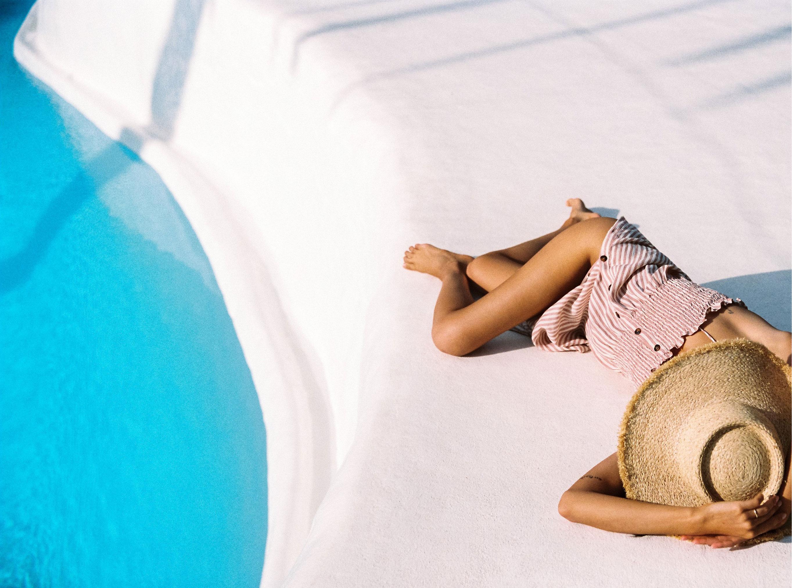 Коллекция купальников и пляжной одежды Faithfull the Brand, лето 2019 / фото 32
