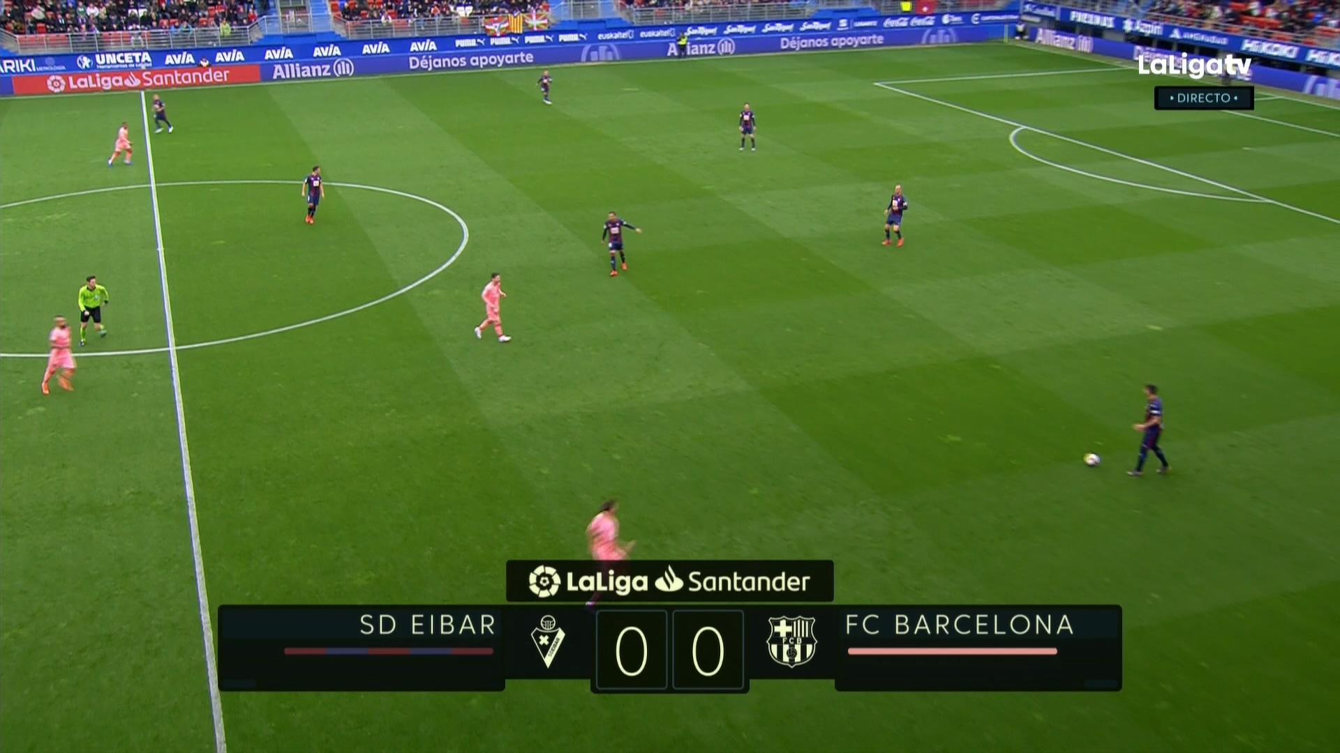 Xem lại: Eibar vs Barcelona