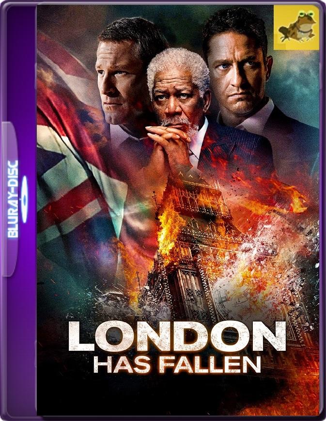 Londres Bajo Fuego (2016) Brrip 1080p (60 FPS) Latino / Inglés