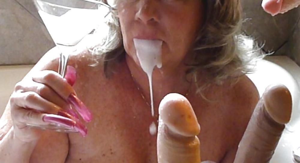 Bukkake my wife-4568