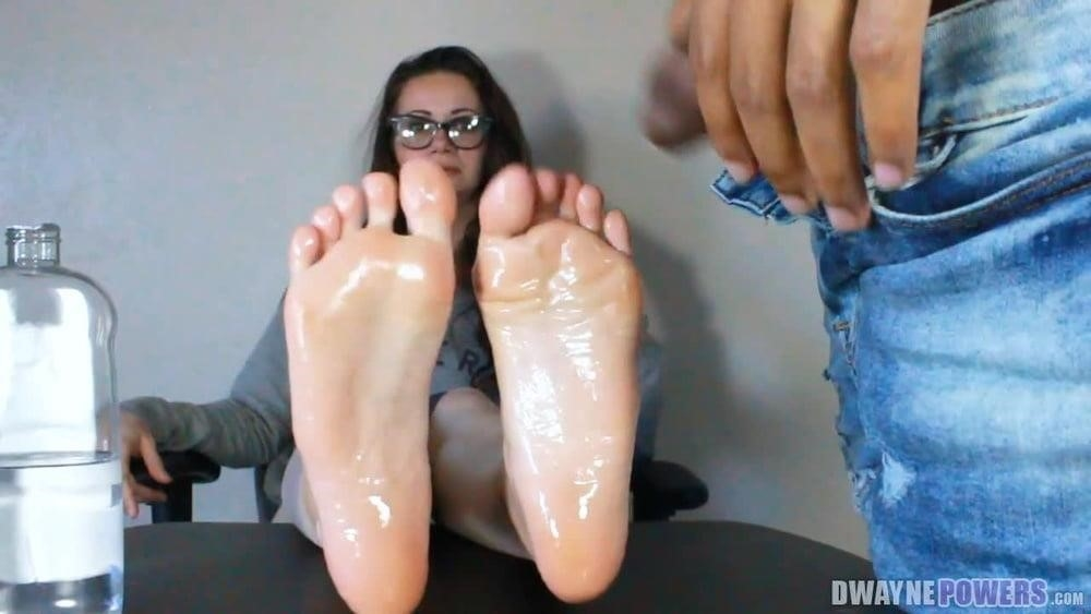 Foot fetish with teacher-9928