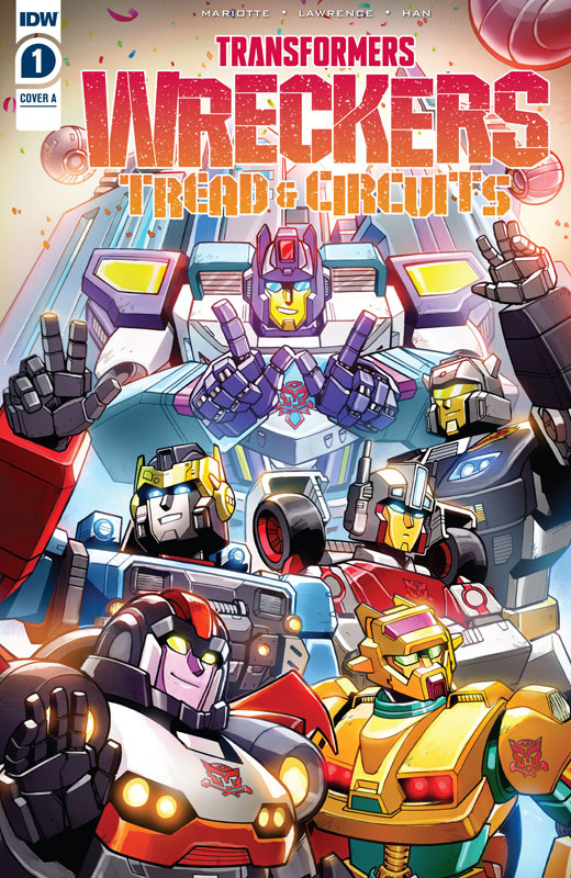 Transformers - Wreckers - Tread & Circuits 001 (2021)