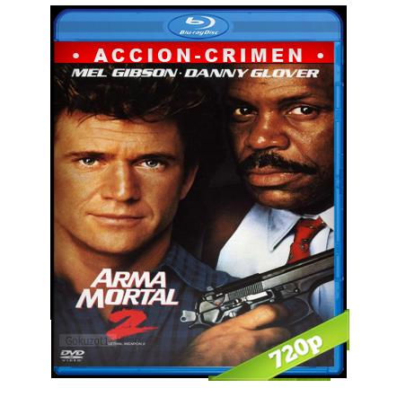 descargar Arma Mortal 2 [m720p][Trial Lat/Cas/Ing][Accion](1989) gratis